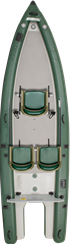 FishSkiff™ 16 Inflatable Fishing Boat