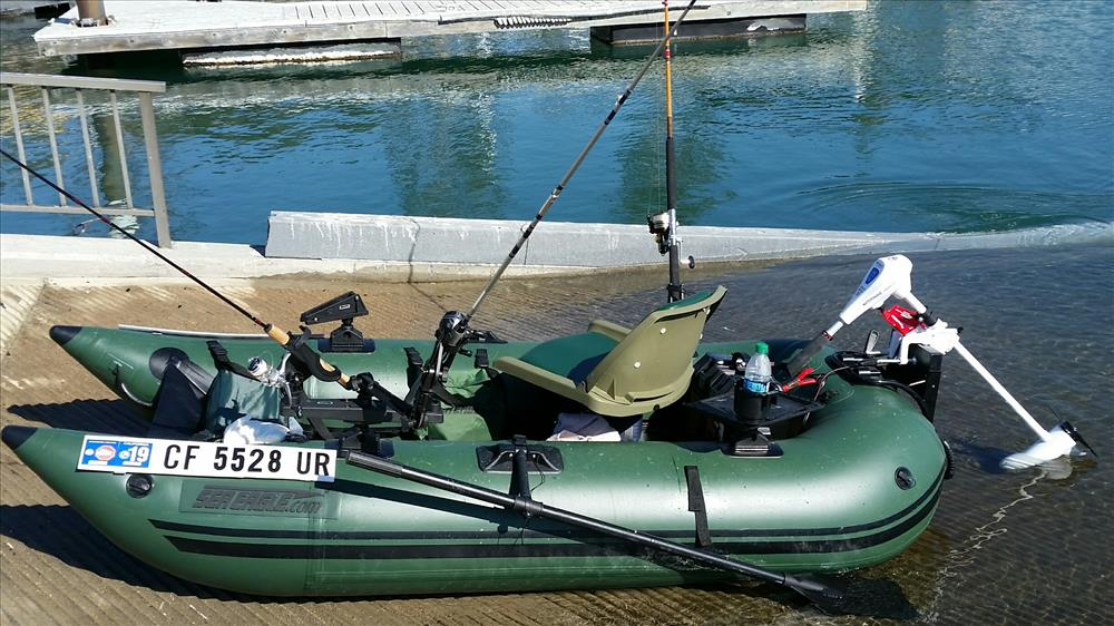 Sea Eagle 285fpb 1 person Inflatable Fishing Boat  Package