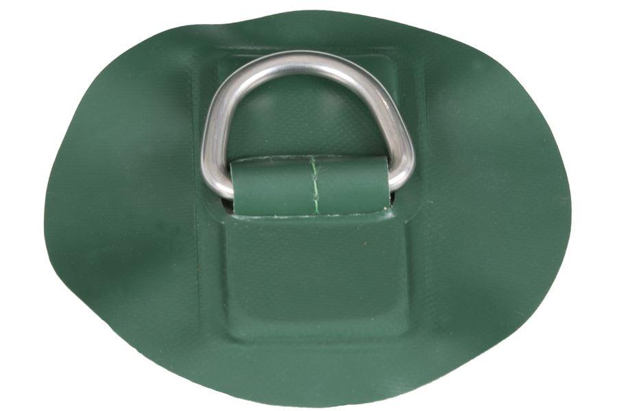 Medium Green D-Ring w/ Glue