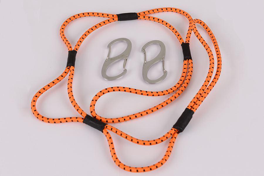 3' Orange Loop Rope