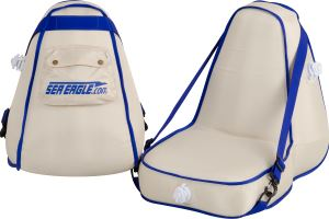 Two Deluxe Inflatable Kayak Seats
