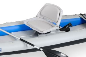 Swivel Fishing Seat Module w/2 Rod Holders for FastTracks