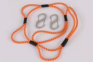 3' Orange Loop Rope