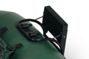 Motormount for Frameless Fishing Boats