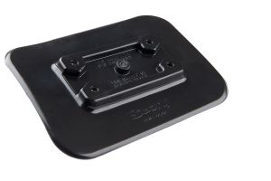 Scotty Glue-on Mounting Pad Black