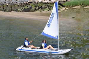 New Boomless Sail Rig for PaddleSki