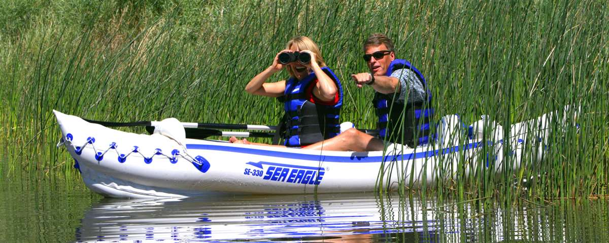 The perfect easy to use kayak for watching wildlife