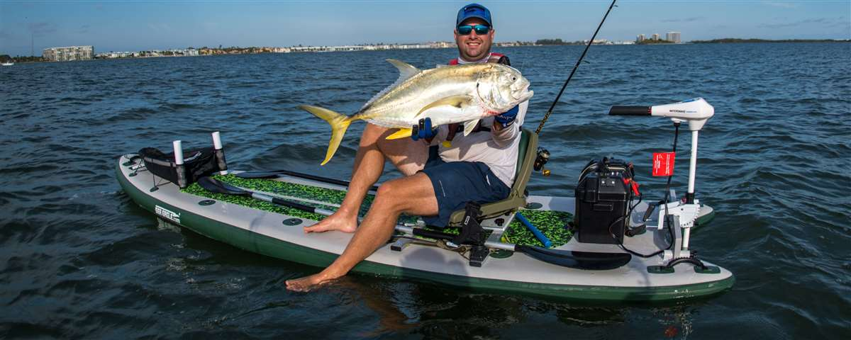 Matt scored a monster Jack Crevalle with his FishSUP126