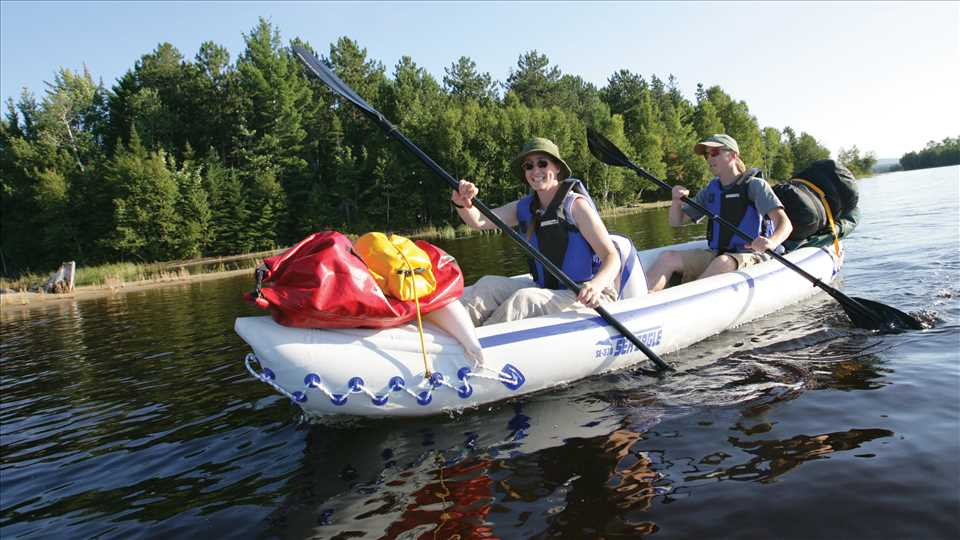 Sea Eagle SE 370 3 Person Inflatable Kayaks Package Prices Starting At 299 Plus FREE Shipping