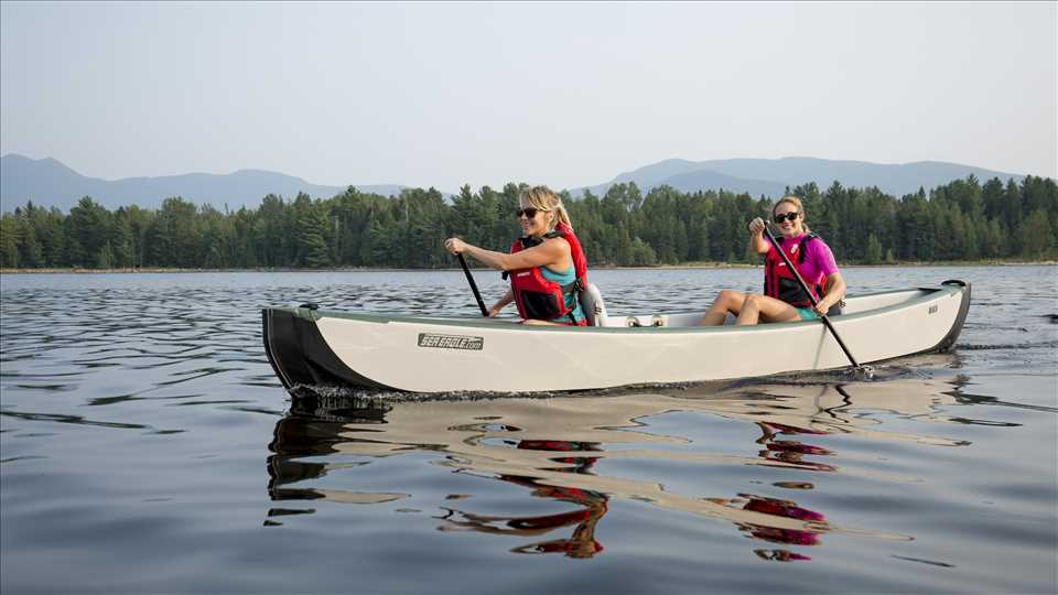 Sea Eagle TC16 3 person Inflatable Canoe  Package Prices starting at