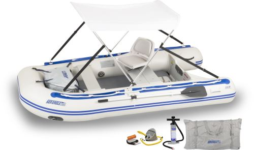 10.6sr Drop Stitch Swivel Seat Canopy Inflatable Boat Package