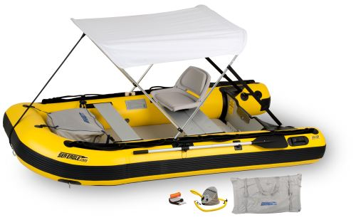 10.6sry Drop Stitch Swivel Seat & Canopy Inflatable Boat Package