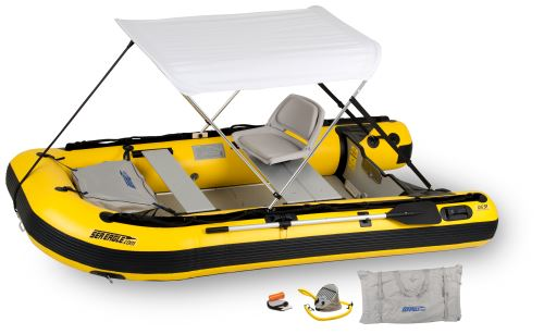 10.6sry Swivel Seat & Canopy Inflatable Boat Package
