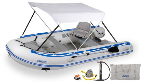 12.6sr Swivel Seat & Canopy Inflatable Boat Package
