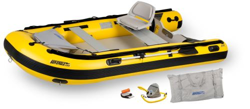 12.6sry Drop Stitch Swivel Seat Inflatable Boat Package