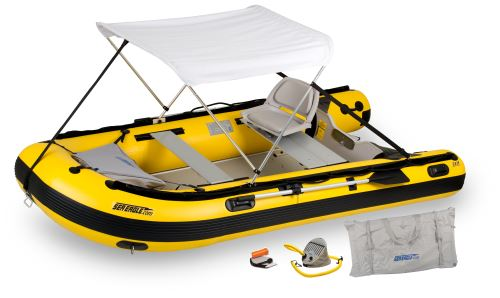 12.6sry Swivel Seat & Canopy Inflatable Boat Package