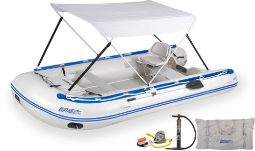 14sr Swivel Seat & Canopy Inflatable Boat Package
