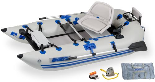 Classic 285fpb Pro Inflatable Pontoon Fishing Boat Package