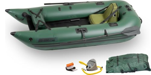 285fpb Deluxe Inflatable Pontoon Fishing Boat Package