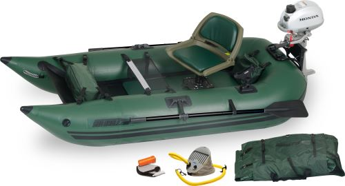 285fpb Honda Motor Inflatable Fishing Boats Package
