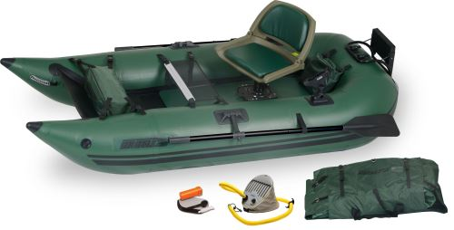 285fpb Pro Inflatable Pontoon Fishing Boat Package