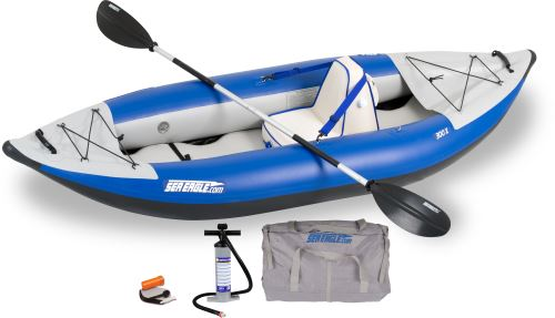 300x Deluxe Inflatable Kayak Package