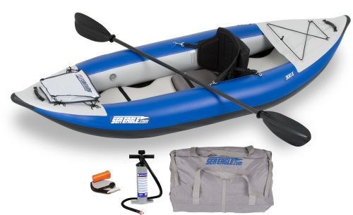 300x Pro Carbon Inflatable Kayak Package