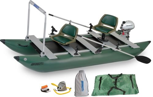 375fc Honda Motor Inflatable Fishing Boats Package