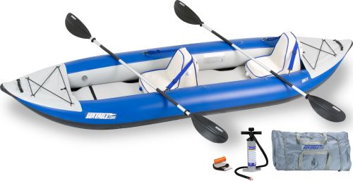 380x Deluxe Inflatable Kayak Package