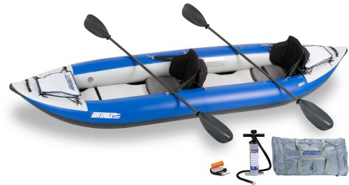 380x Pro Carbon Inflatable Kayak Package