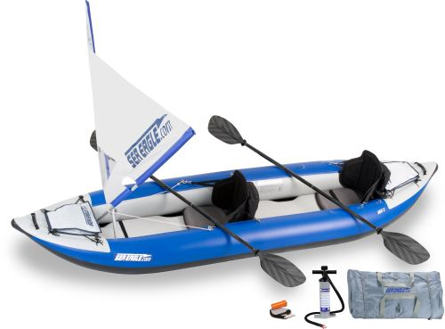380x QuikSail Inflatable Kayak Package