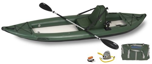 385ftg Deluxe Angler Inflatable Kayak Package