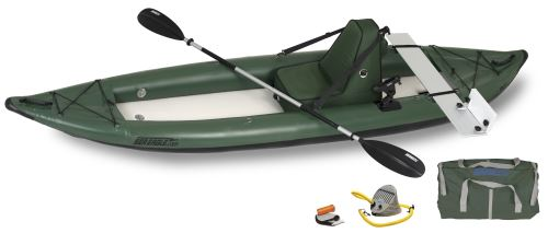 385ftg Deluxe Motormount Angler Inflatable Kayak Package