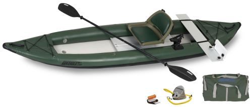 385ftg Motormount Angler Inflatable Kayak Package