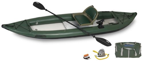 385ftg Pro Angler Inflatable Kayak Package