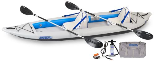 385ft Deluxe Inflatable Kayak Package