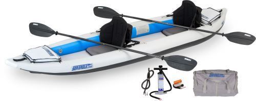 385ft Pro Carbon Inflatable Kayak Package