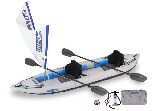 385ft QuikSail Inflatable Kayak Package