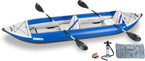 420x Deluxe Inflatable Kayak Package