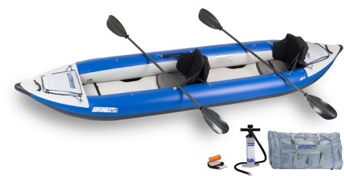 420x Pro Carbon Inflatable Kayak Package
