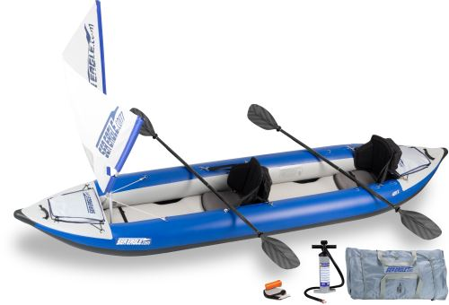 420x QuikSail Inflatable Kayak Package