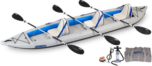 465ft Deluxe Inflatable Kayak Package