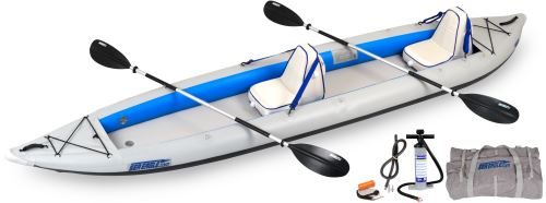 465ft Deluxe 2 Person Inflatable Kayak Package