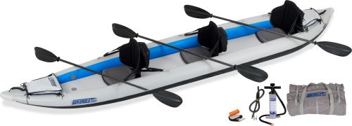 465ft Pro Carbon Inflatable Kayak Package