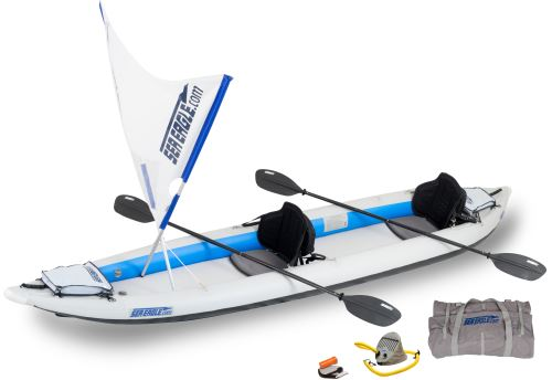 465ft QuikSail Inflatable Kayak Package