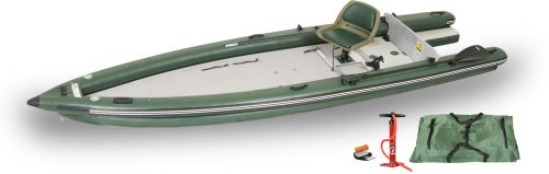 FSK16 Solo Startup Inflatable Fishing Boats Package