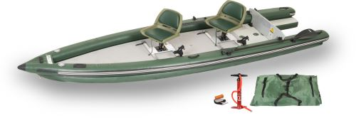 FSK16 2 Person Swivel Seat Inflatable Fishing Boats Package