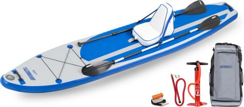 LB126 Deluxe Inflatable Stand-Up Paddleboard Package