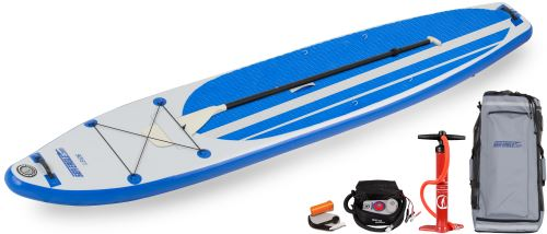 LB126 Electric Pump Inflatable Stand-Up Paddleboard Package