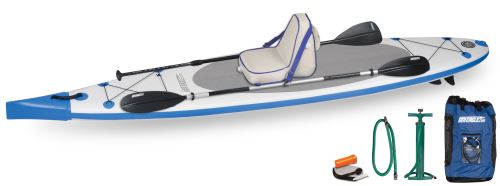 NeedleNose™ 124 Deluxe Inflatable Stand-Up Paddleboard Package